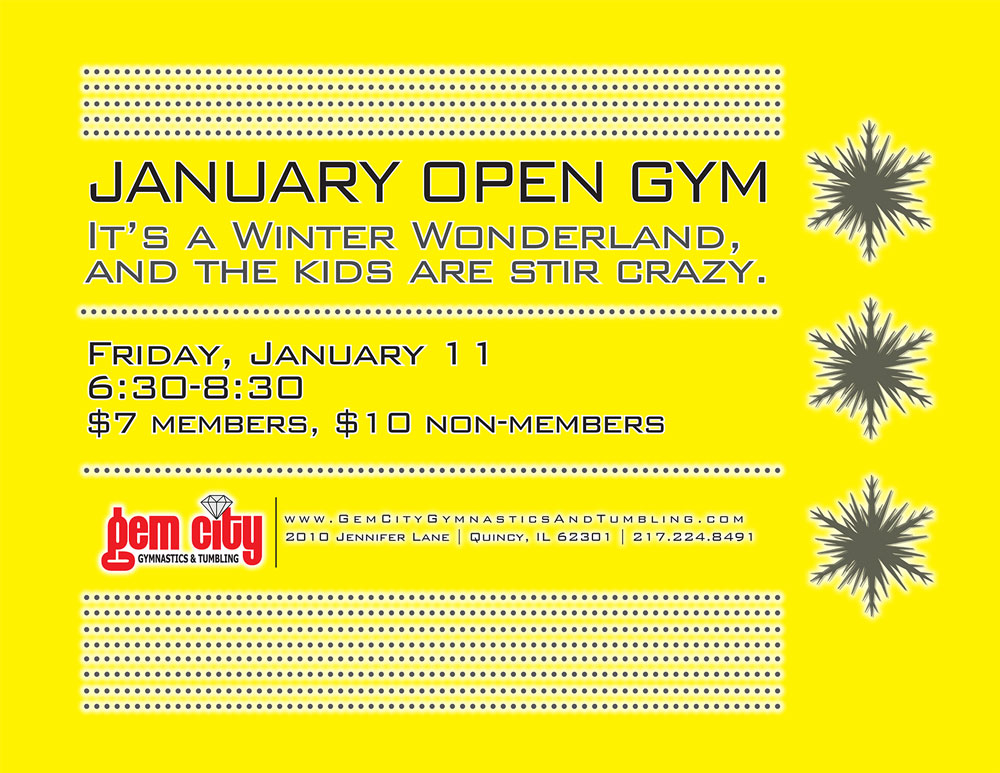 January 2013 OpenGym-Winter
