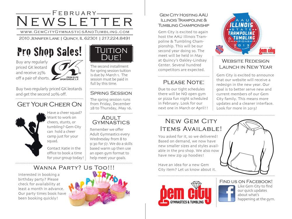 2013-February-Newsletter