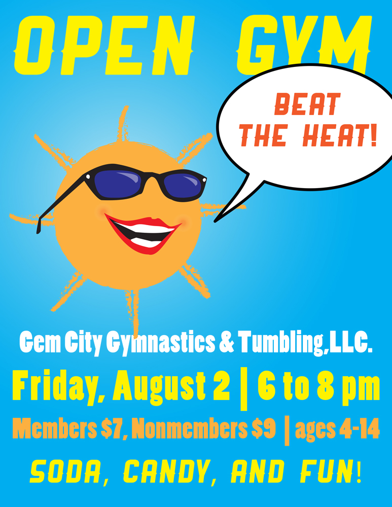 August Open Gym