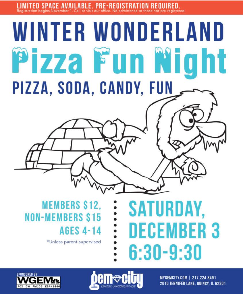 Attend our Winter Wonderland PFN!