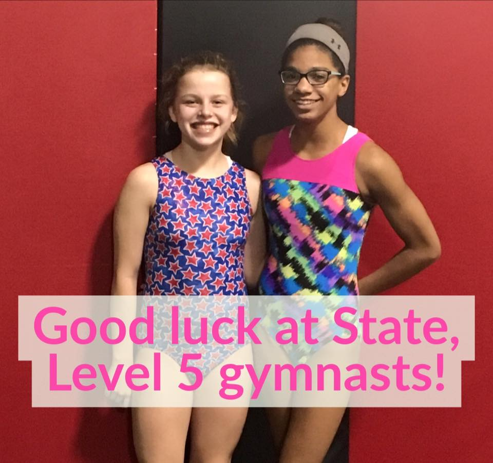Good luck, Level 5s!