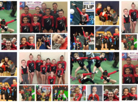 Fun at tumbling team meets!