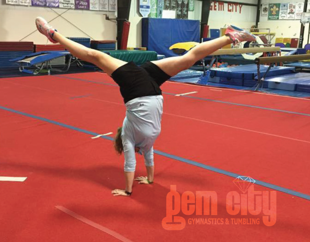 Try adult gymnastics with Coach Penny!