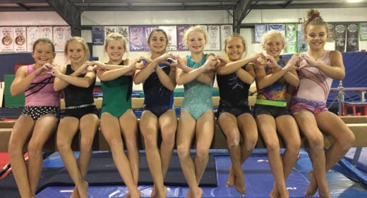 We love gymnastics!
