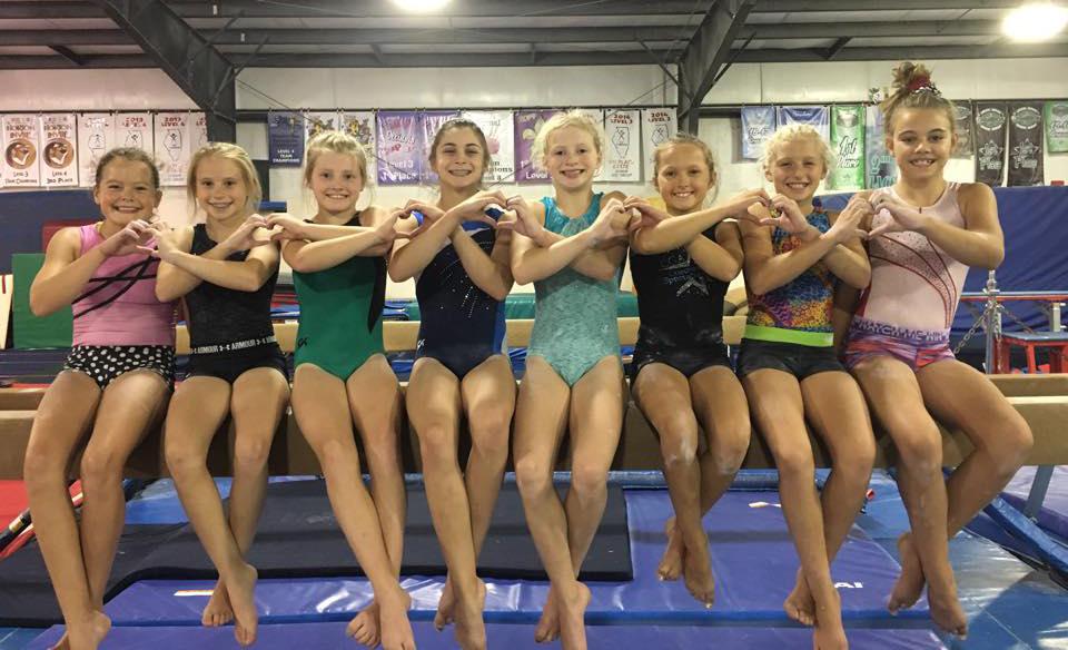 We love gymnastics!