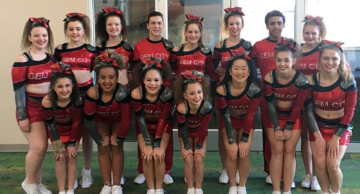 Gem City's squad after their first competition