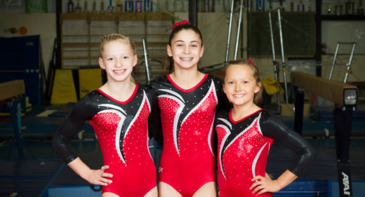 Gem City's Level 8 Gymnasts