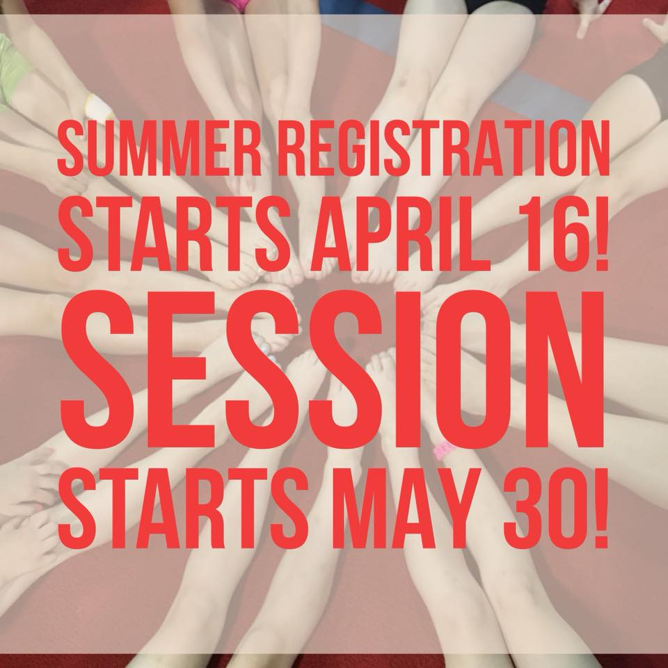 Sign up for summer classes!