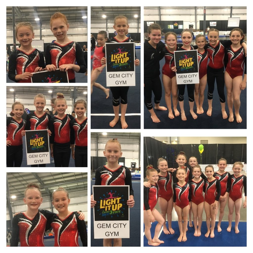 Good job, Level 3 gymnasts!