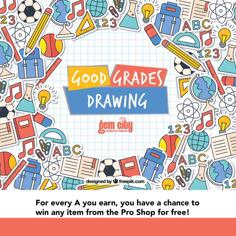 Good Grades Drawing logo