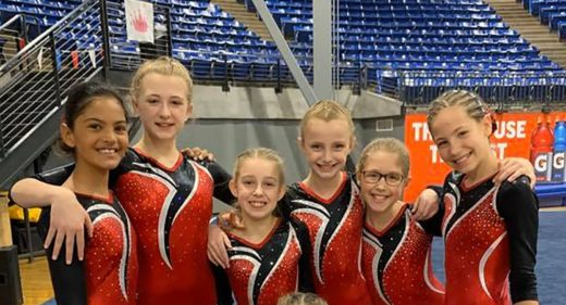 Level 3 gymnasts