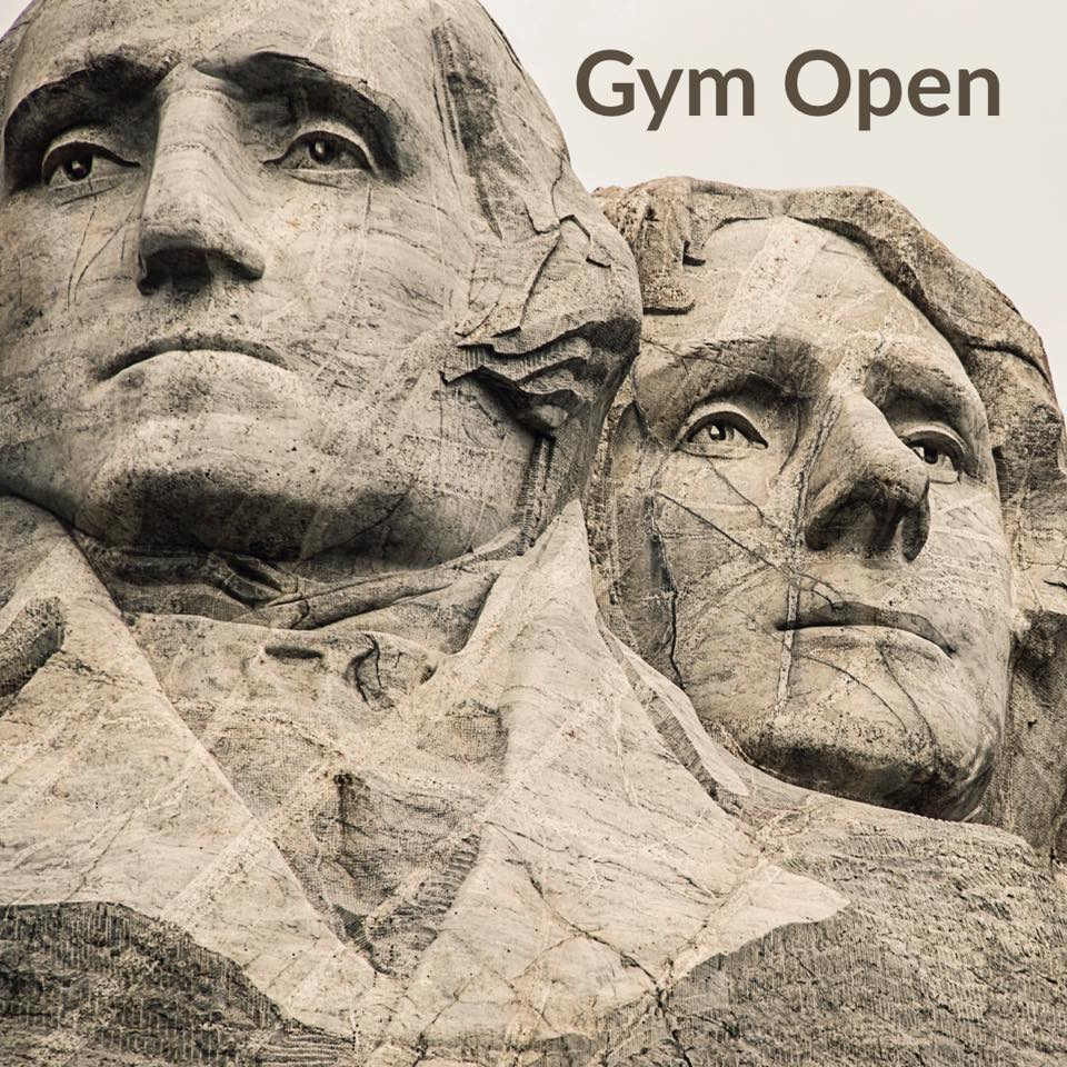 Happy Presidents' Day! 🇺🇸Gem City is open for classes.
