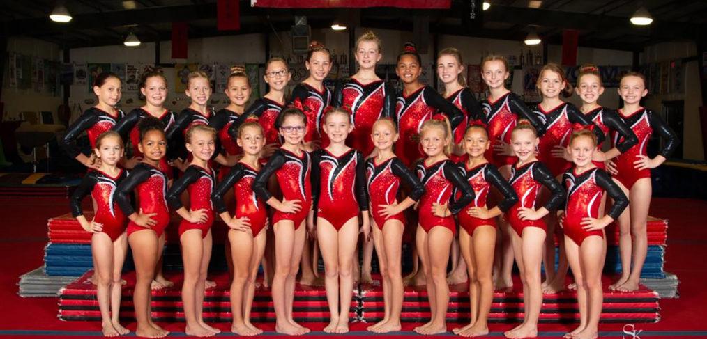 Gem City's Level 3 Gymnastics Team